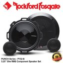 "ORIGINAL ROCKFORD FOSGATE PUNCH USA P152-S 50W RMS 5.25"" COMPONENT SPEAKER SET"