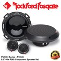 "ORIGINAL ROCKFORD FOSGATE PUNCH USA P162-S 60W RMS 6"" COMPONENT SPEAKER SET"