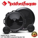 "ORIGINAL ROCKFORD FOSGATE PUNCH USA P1675-S 60W RMS 6.75"" COMPONENT SPEAKER SET"