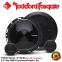 "ORIGINAL ROCKFORD FOSGATE PUNCH USA P165-SI 60W RMS 6.5"" EURO FIT COMPATIBLE COMPONENT SPEAKER SET"