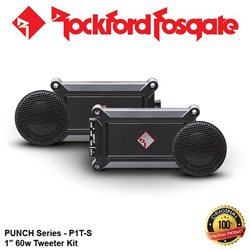 "ORIGINAL ROCKFORD FOSGATE PUNCH USA P1T-S 60W RMS 1"" Tweeter Kit"