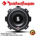 "ORIGINAL ROCKFORD FOSGATE PUNCH PRO USA PP4-T 50W RMS 1.5"" TWEETER SET (not in pairs)"