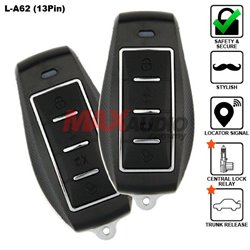 SKY 13 Pin 4-Button Multi Function Car Alarm System Made in Korea [L-A62-13PIN]