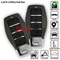 SKY 4-Button 13 Pin Full Set Multi Function Car Alarm System with Shock Sensor and Siren [L-A72-FULL]