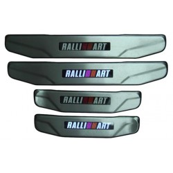 PROTON INSPIRA/ MITSUBISHI LANCER GT 2007 ~ 2013/ EVO X (RALLI ART) Stainless Steel LED Door Side Sill Step Plate Made In Taiwan