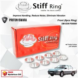 PROTON ISWARA STIFF RING T6 Aluminium Rigid Collar Anti Vibration Redefine Subframe Chassis Stability Tuning Kit