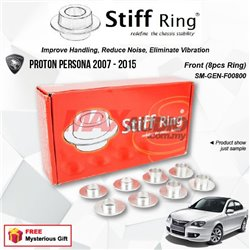 PROTON PERSONA 2007 - 2015 STIFF RING T6 Aluminium Rigid Collar Anti Vibration Redefine Subframe Chassis Stability Tuning Kit