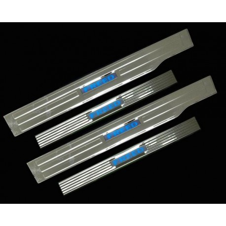 HONDA FREED Stainless Steel LED Door Side Sill Step Plate Made In Taiwan