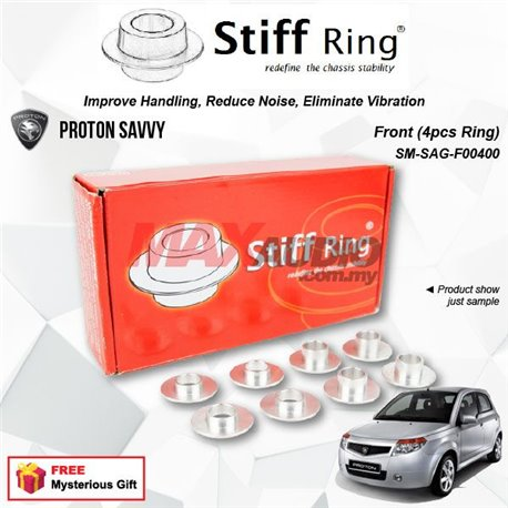 PROTON SAVVY STIFF RING T6 Aluminium Rigid Collar Anti Vibration Redefine Subframe Chassis Stability Tuning Kit