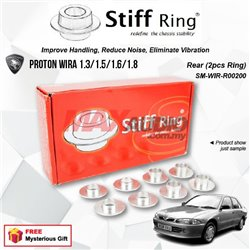 PROTON WIRA 1.3/1.5/1.6/1.8 STIFF RING T6 Aluminium Rigid Collar Anti Vibration Redefine Subframe Chassis Stability Tuning Kit