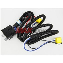 ZIIIRO H4 Halogen Head Light Heavy Duty Super Booster Wire Kit Increase 50% to HID Brightness (ZR-KPH04)