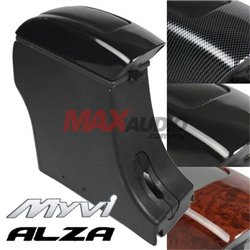 PERODUA ALZA and MYVI 2005, LAGI BEST, ICON Leather Center Arm Rest Console Box with Coin Holder