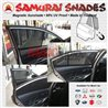 ORIGINAL SAMURAI SHADES 100% Fully Magnetic 3 Second Plug and Play 98% UV Proof Car Sun Shades Made In Thailand