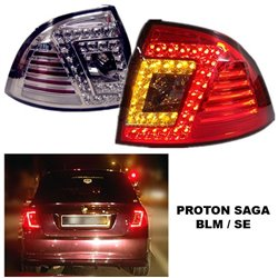 PROTON SAGA BLM/ SE LED Rear Tail Lamp (Red / Smoke)
