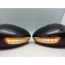 [HONDA CITY/ JAZZ 2003 ~ 2008] Side Mirror Cover LED Signal Light [MC001-BLACK]