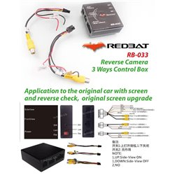 REDBAT RB-033 3-Way Front & Rear Camera Convertor Control System Box