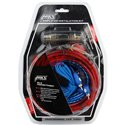 MYS 8GA 1500 Watts Speaker Subwoofer Wire RCA Cable Car Audio Amplifier Installation Kit with Fuse Holder [MJ-8]