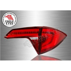 HONDA HRV HR-V/ VEZEL/ XRV EAGLE EYES Red Clear Lens LED Light Bar Tail Lamp with Sequentail Signal (Pair) [TL-305]