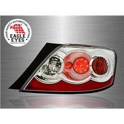 TOYOTA MARK-X / REIZ 2004 - 2009 EAGLE EYES Smoke Lens LED Tail Lamp (Pair) [TL-151-2]