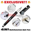 [EXCLUSIVE] Maxaudio 4 In 1 Multifunction Ball Pen with Stylus, QR Code and Phone Holder