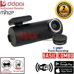 DDPAI MINI2P 2K Color 1440px Full HD Car Driving Video Recorder Dashcam (DVR)
