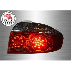 TOYOTA VIOS 2002 - 2006 EAGLE EYES Red Smoke Lens LED Tail Lamp [TL-062-1]
