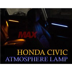 HONDA CIVIC FC 2016 - 2019 Special Four Door Interior Panel Atmosphere LED Lamp (Ice Blue/ Classic Orange) (4Pcs)