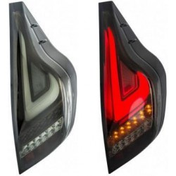 TOYOTA PRIUS C 2010-2014 EAGLE EYES Smoke LED Bar Tail Lamp [TL-228-1]