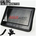 7 Inch TFT LCD Color Car Monitor Display Split For Rear View Camera
