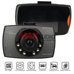 "Car Driving Video Recorder Camera DVR 2.7"" FULL HD 1080P With Built-in G-Sensor Parking Monitor"