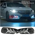 HONDA CIVIC FC 2016-2019 V3 Arrow Style Daytime Running Lamp Drl With Sequential Signal Light (Pair)