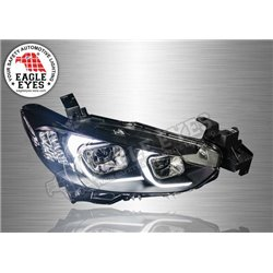 MAZDA 6 GJ 2012 - 2019 EAGLE EYES C-Style LED Light Bar DRL Double Projector Head Lamp (Pair) [HL-201]