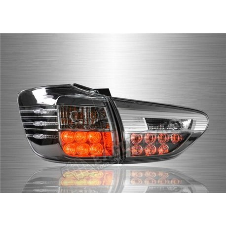 TOYOTA WISH 2009 - 2017 Clear Smoke Lens LED Tail Lamp (Pair) [TL-314]