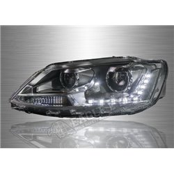 VOLKSWAGEN JETTA A6 2011 - 2018 Projector LED DRL Head Lamp (Pair) [HL-150-LD]