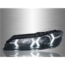 NISSAN SILVIA S15 1999 - 2002 LED Light Bar DRL Projector Head Lamp (Pair) [HL-196]