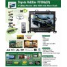 "[TOYOTA ALPHARD/ VELLFIRE 2008 ~ 2014] DLAA J-9202(N) 9"" Double Din TFT Monitor DVD, MP3, CD, USB, SD, BLUEETOOTH, TV In-Built P"