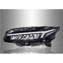 HONDA CIVIC FC 2016 - 2019 Light Bar DRL LED Head Lamp with Sequantial Signal (Pair) [HL-239-SQ]