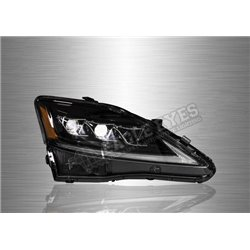 LEXUS IS250 2005 - 2015 Projector LED Sequential Signal DRL Head Lamp (Pair) [HL-248]