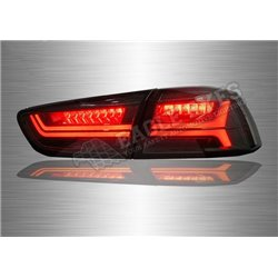 MITSUBISHI LANCER / INSPIRA 2007 - 2017  Smoke Lens LED Light Bar Tail Lamp (Pair) [TL-303-1]
