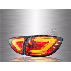 MAZDA CX-5 2012 - 2017 Smoke Lens Light Bar LED Tail Lamp (Pair) [TL-265]