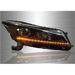 HONDA ACCORD G8 2008 - 2012 LED Head Lamp with Sequential Signal (Pair) [HL-226]