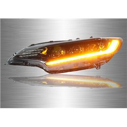 HONDA JAZZ / FIT GK 2014 - 2019 Full LED Projector Head Lamp with Squential Signal (Pair) [HL-217-1]