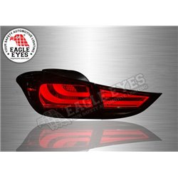 HYUNDAI ELANTRA 2011 - 2015 EAGLE EYES Smoke Lens LED Tail Lamp (Pair) [TL-193-2]