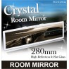 MIRAREED ER-018 V.I.P Pearl White 28Cm Crystal Rearview Mirror