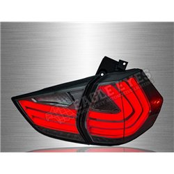 NISSAN X-Trail 2013 - 2019 Smoke Lens LED Light Bar Tail Lamp (Pair) [TL-276]