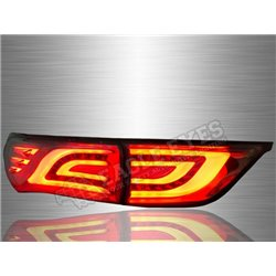 TOYOTA HARRIER XU60 2013 - 2019 Smoke Lens LED Light Bar Tail Lamp (Pair) [TL-284-1]