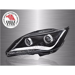 TOYOTA CAMRY 2012 – 2018 EAGLE EYES Audi Concept LED Light Bar Projector Head Lamp (Pair) [HL-148-1]