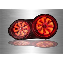 NISSAN SKYLINE R35 2007 - 2019 Chrome Lens LED Tail Lamp with Sequential Signal (Pair) [TL-304-1]