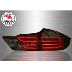 HONDA CITY GM6 2014 - 2019 EAGLE EYES Red & Smoke Lens LED Light Bar Tail Lamp (Pair) [TL-260-1]