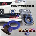 Univesal For All Car 3M ABS Plastic Bumper Racing Decorative Dummy Towing Hook